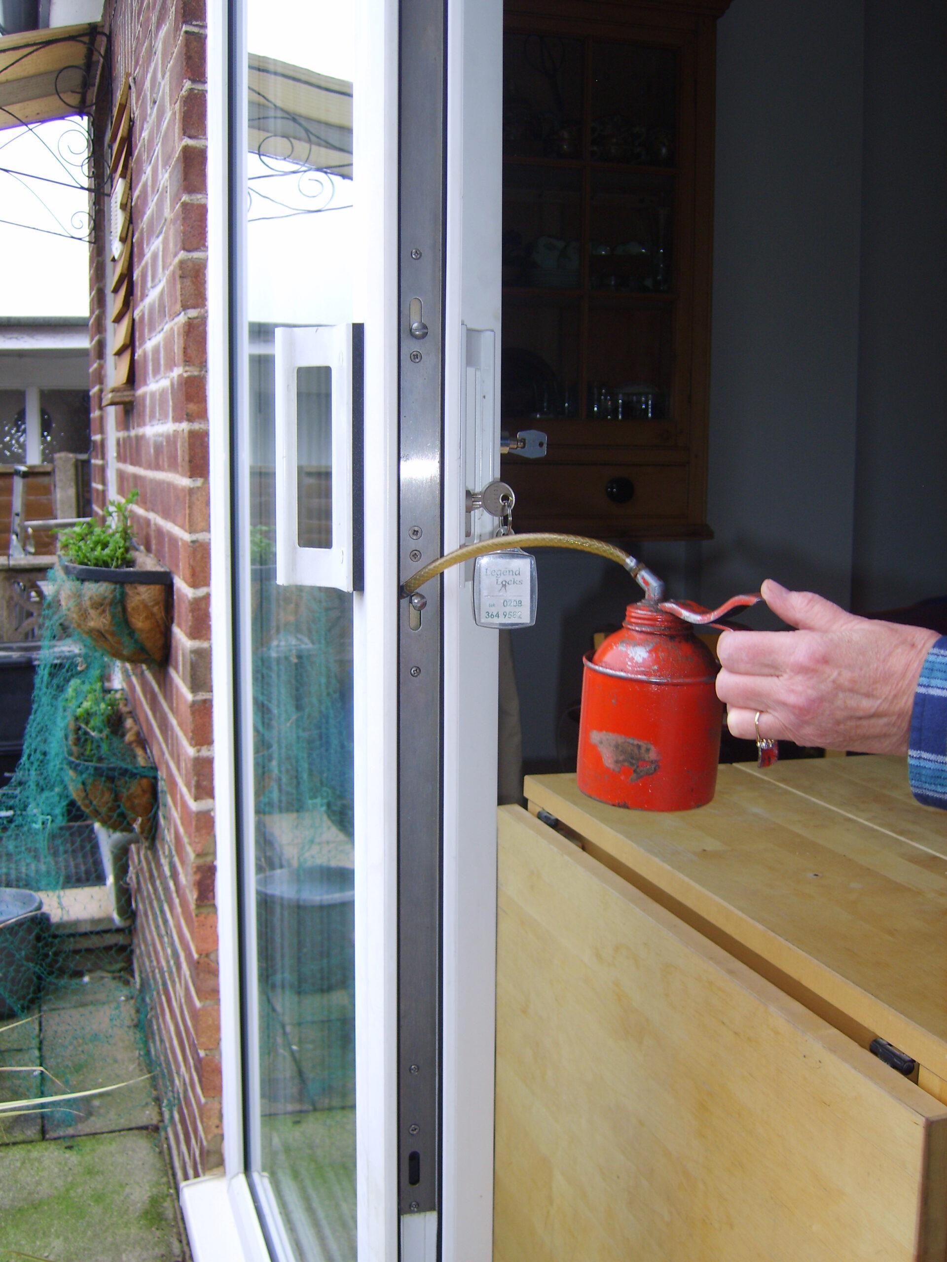 Oiling M.P.L. Sliding Patio Door