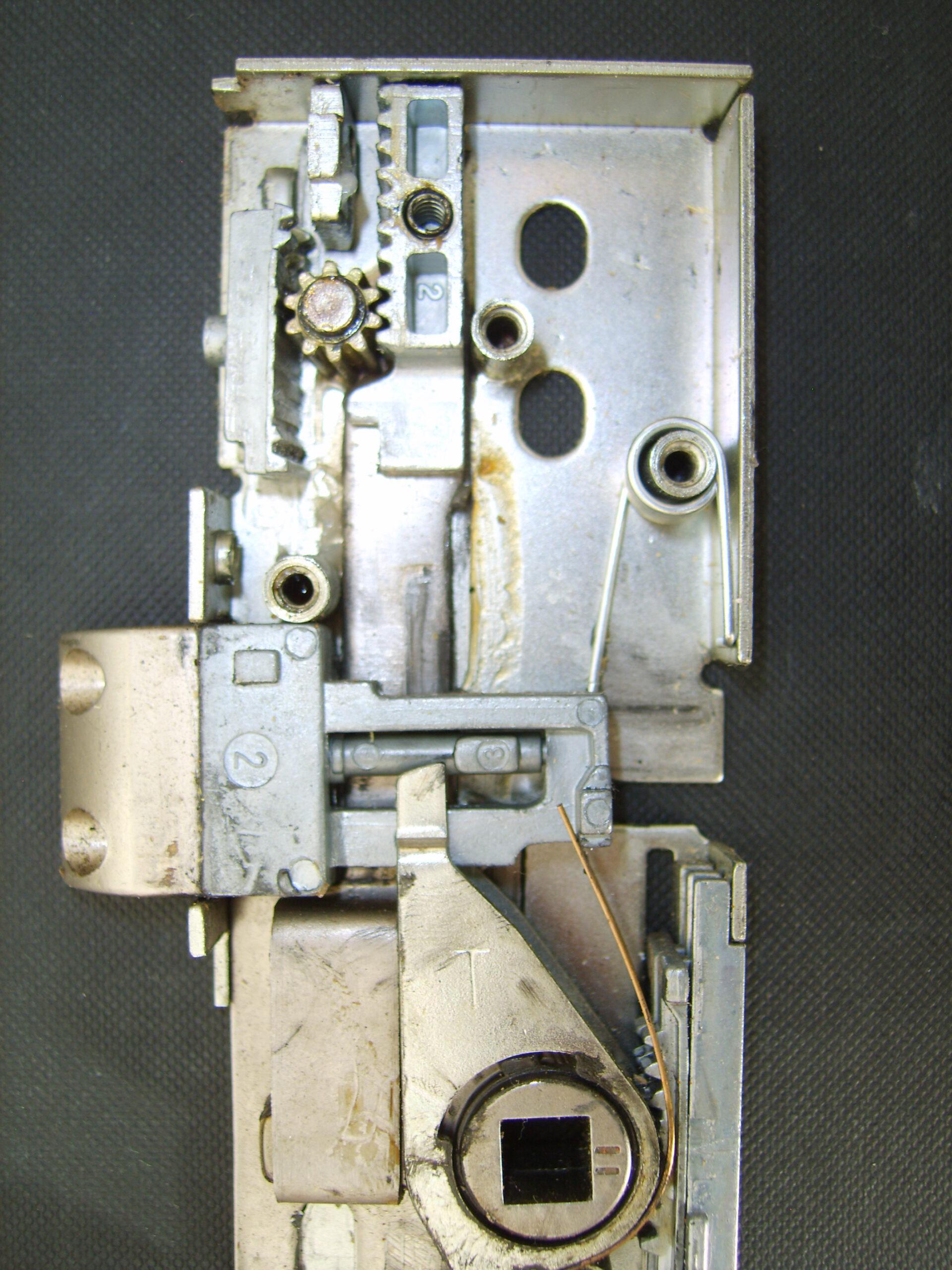 uPVC door repairs in Barnet. Broken Gearbox.Replacement necessary.