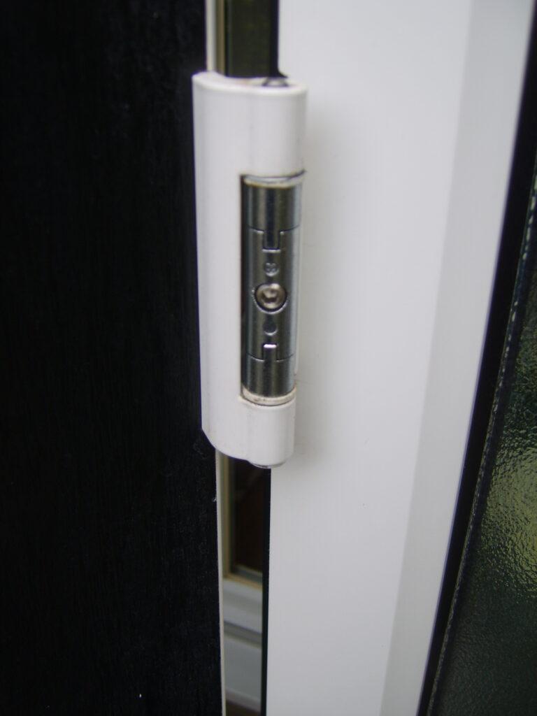 uPVC door repair in Barnet.Adjusting 3D hinges is correctlycrucial