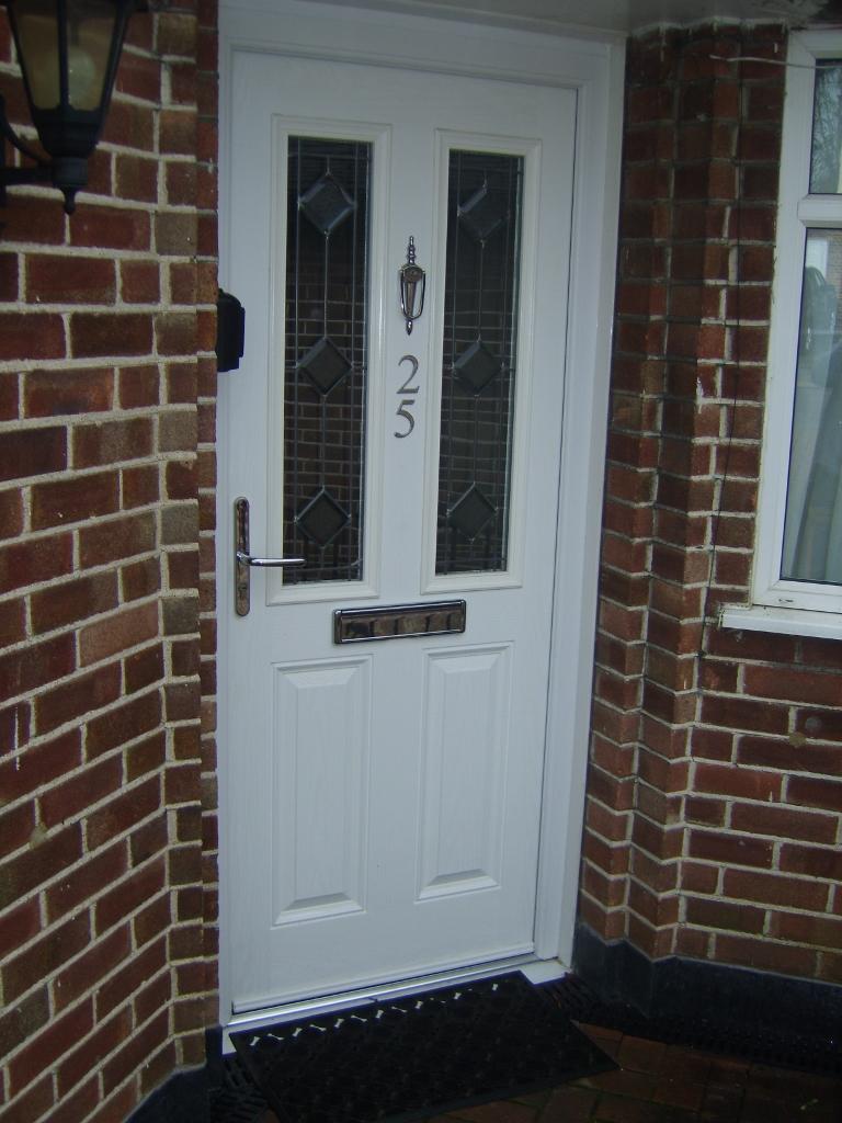 Part Glazed u.P.V.C. Front Door