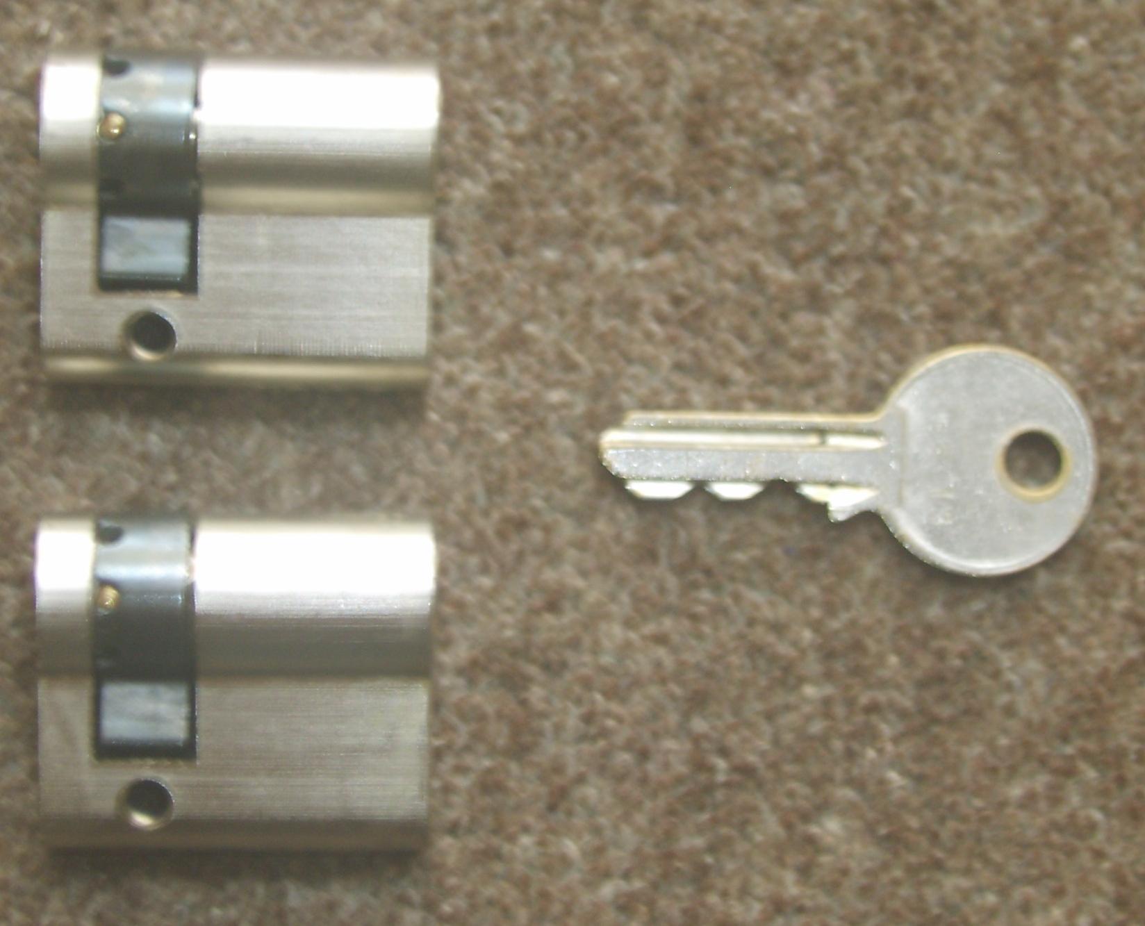 Keyed Alike Single Euro Cylinders