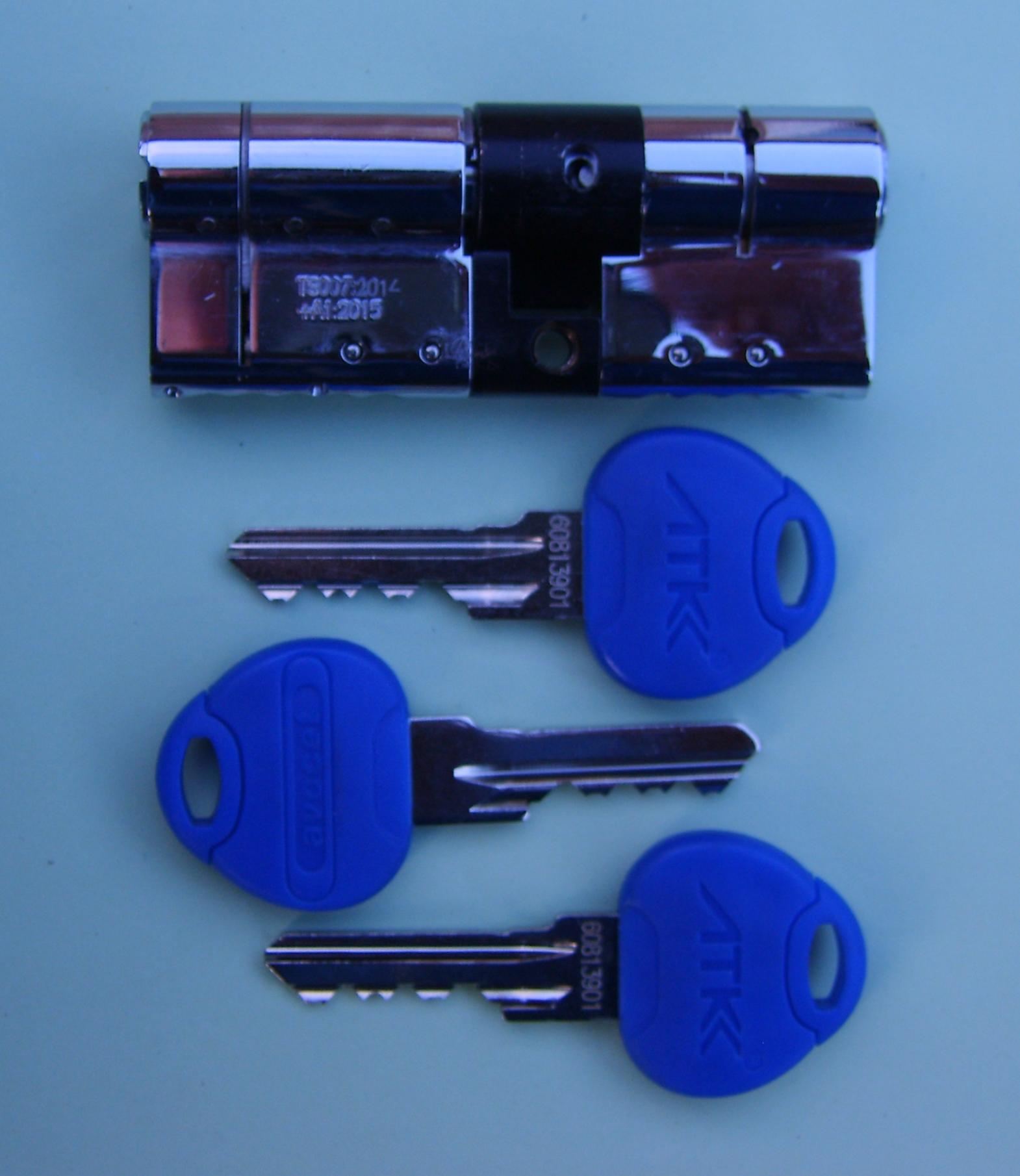 Insurance locks.ATK Cylinder